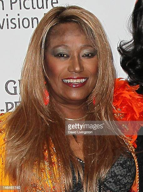 Recording artist Bonnie Pointer attends an intimate cocktail celebration hosted by Brett Ratner in conjunction with the 100th anniversary celebration...
