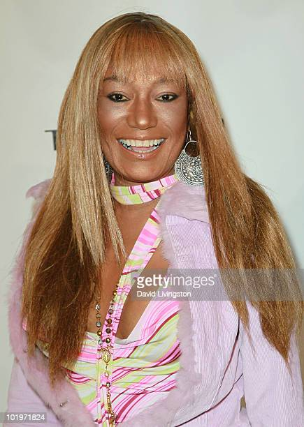 Recording artist Bonnie Pointer attends the grand opening of Bravada Women's Athletica on Robertson Blvd on June 10 2010 in Los Angeles California