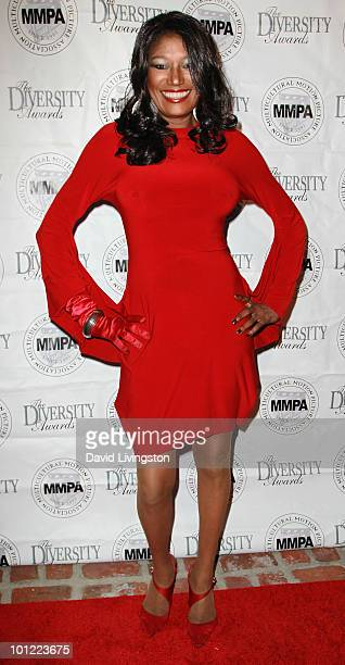 Recording artist Bonnie Pointer attends the Multicultural Motion Picture Association's Educational Scholarship Fund reception at Residence France on...