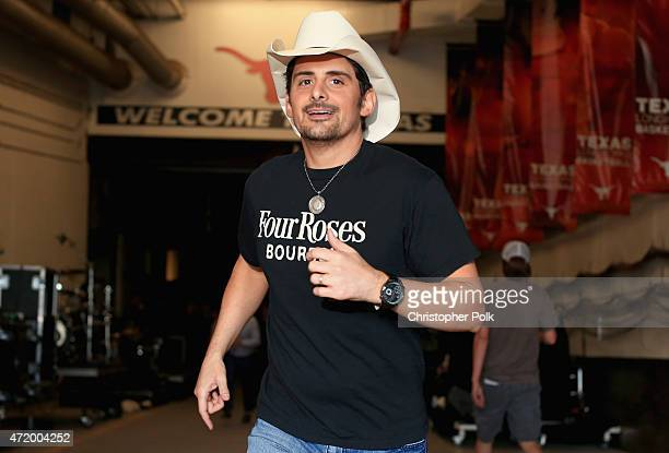 Recording artist Brad Paisley attends the 2015 iHeartRadio Country Festival at The Frank Erwin Center on May 2 2015 in Austin Texas The 2015...
