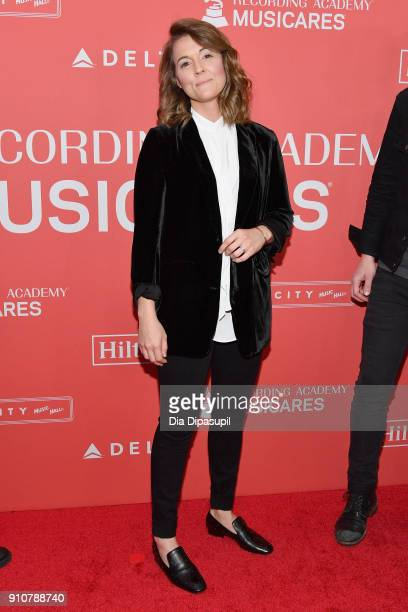 Recording artist Brandi Carlile attends MusiCares Person of the Year honoring Fleetwood Mac at Radio City Music Hall on January 26 2018 in New York...