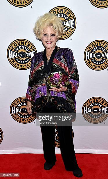 Recording artist Brenda Lee attends The Country Music Hall of Fame 2015 Medallion Ceremony at Country Music Hall of Fame and Museum on October 25...