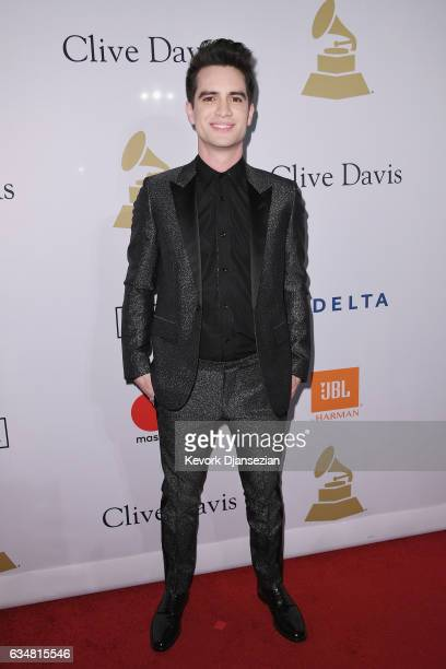 Recording artist Brendon Urie attends PreGRAMMY Gala and Salute to Industry Icons Honoring Debra Lee at The Beverly Hilton on February 11 2017 in Los...