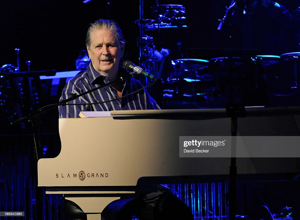 Recording artist Brian Wilson performs at The Pearl concert theater at the Palms Casino Resort on October 18, 2013 in Las Vegas, Nevada.