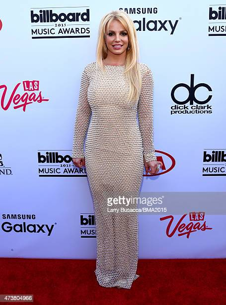 Recording artist Britney Spears attends the 2015 Billboard Music Awards at MGM Grand Garden Arena on May 17 2015 in Las Vegas Nevada