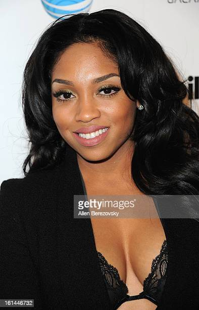 Recording artist Brooke Valentine attends the Billboard GRAMMY after party presented by Citi at The London Hotel on February 10 2013 in West...