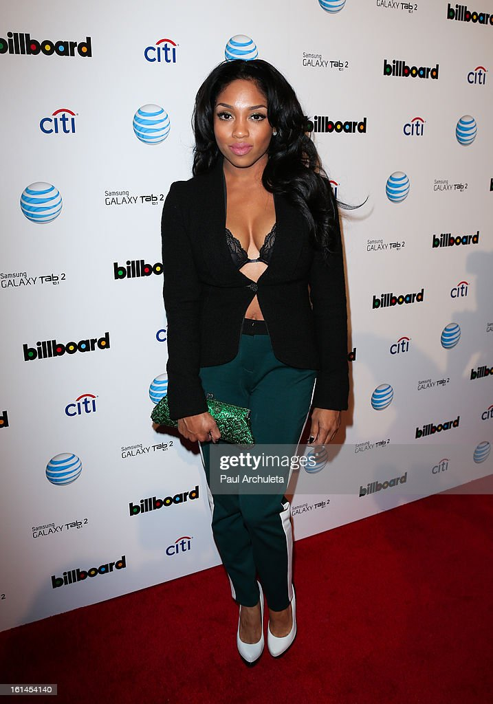Recording Artist Brooke Valentine attends The Billboard GRAMMY after party at The London Hotel on February 10, 2013 in West Hollywood, California.