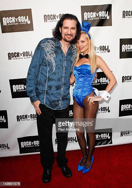 Recording Artist Bruce Kulick attends the 15th anniversary of Rock 'N' Roll Fantasy Camp at The Playboy Mansion on May 5 2012 in Beverly Hills...