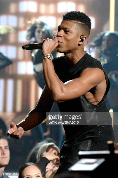 Recording artist Bryshere Y Gray performs onstage during the 2015 Billboard Music Awards at MGM Grand Garden Arena on May 17 2015 in Las Vegas Nevada