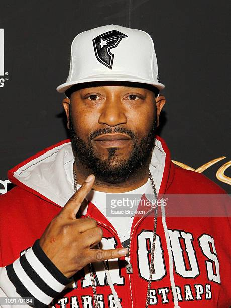 Recording artist Bun B arrives at UFC Famous Stars and Straps and New Era's The Magic Party at XS the nightclub on February 15 2011 in Las Vegas...