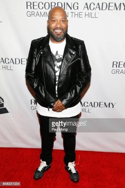 Recording artist Bun B attends Grammys on the Hill Awards Dinner on April 18 2018 in Washington DC
