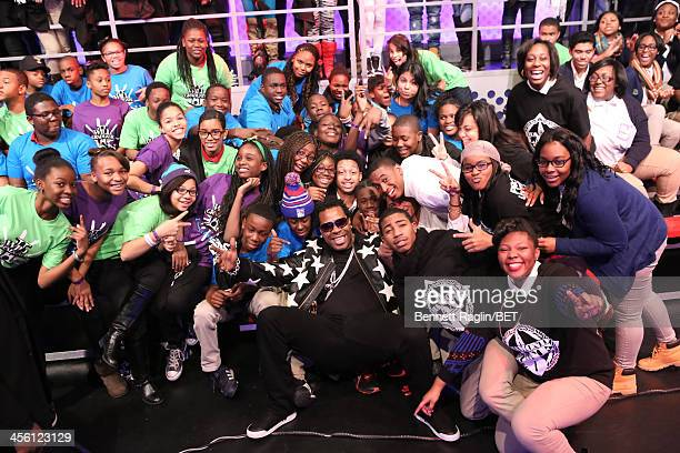 Recording artist Busta Rhymes visits 106 Park at BET studio on December 11 2013 in New York City