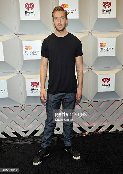 Recording artist Calvin Harris attends the 2014 iHeartRadio Music Festival at the MGM Grand Garden Arena on September 20 2014 in Las Vegas Nevada