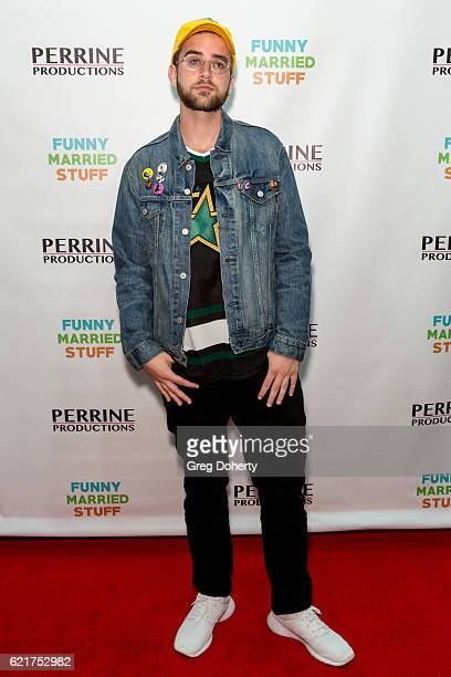 Recording Artist Calvin Valentine arrives for the Screening Of Perrine Productions' 'Funny Married Stuff' at the ACME Comedy Theatre on November 7...