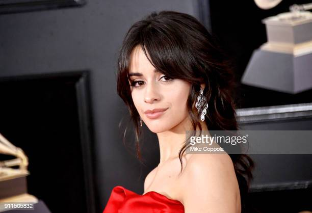 Recording artist Camila Cabello attends the 60th Annual GRAMMY Awards at Madison Square Garden on January 28 2018 in New York City