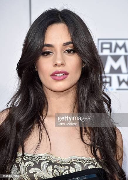 Recording artist Camila Cabello of Fifth Harmony attends the 2015 American Music Awards at Microsoft Theater on November 22 2015 in Los Angeles...