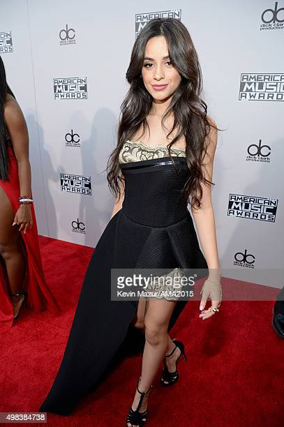 Recording artist Camila Cabello of music group Fifth Harmony attends the 2015 American Music Awards at Microsoft Theater on November 22 2015 in Los...