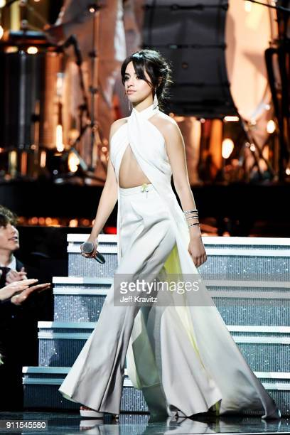 Recording artist Camila Cabello performs onstage during the 60th Annual GRAMMY Awards at Madison Square Garden on January 28 2018 in New York City