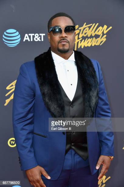 Recording artist Canton Jones arrives at the 32nd annual Stellar Gospel Music Awards at the Orleans Arena on March 25 2017 in Las Vegas Nevada