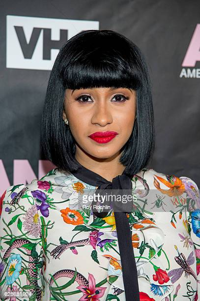 Recording artist Cardi B attends VH1's 'America's Next Top Model' Premiere at Vandal on December 8 2016 in New York City
