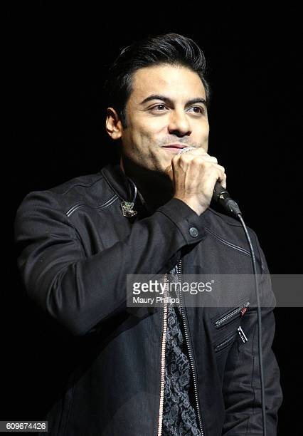 Recording Artist Carlos Rivera the Latin GRAMMY Acoustic Sessions Los Angeles on September 21 2016 in Los Angeles California