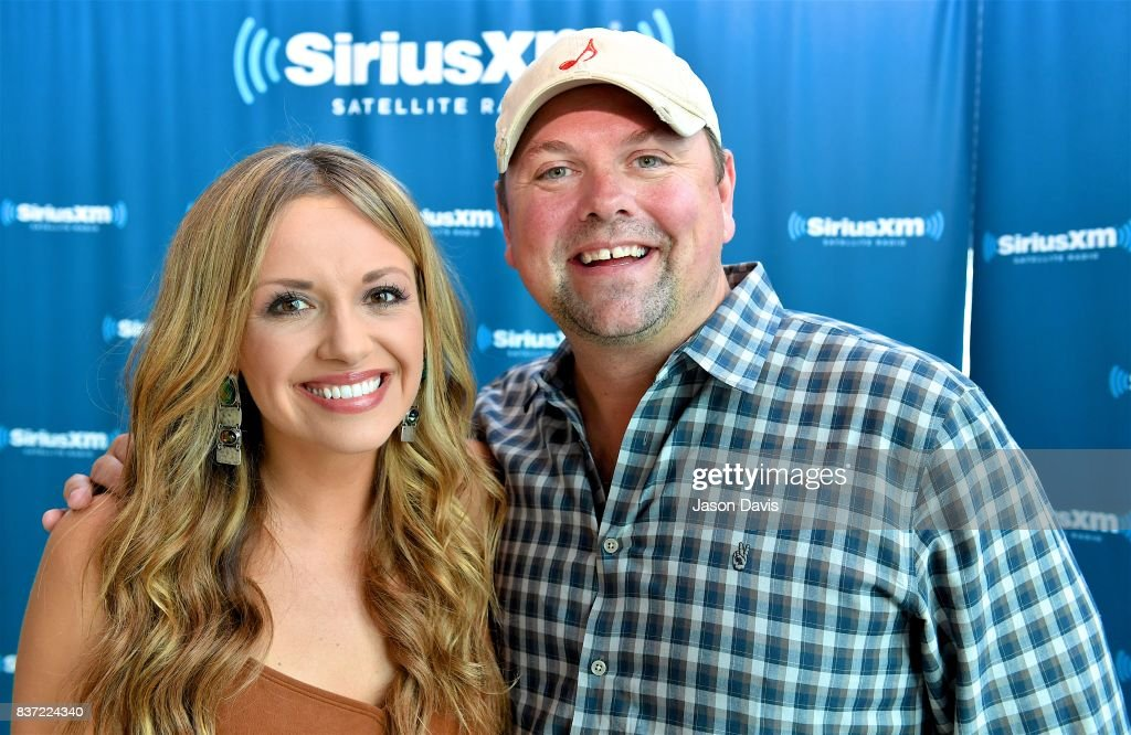 Recording Artist Carly Pearce and SiriusXM Host Storme Warren arrive at the SiriusXM Nashville Studios where Carly announced her debut album 'Every Little Thing' at SiriusXM Studios on August 22, 2017 in Nashville, Tennessee.