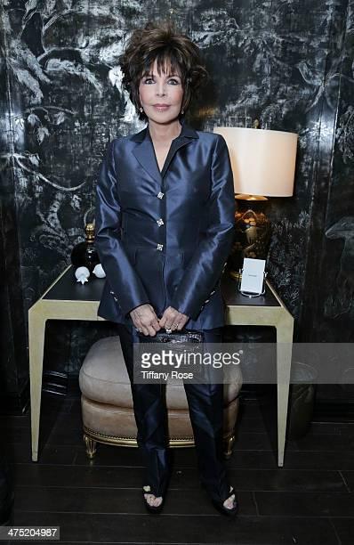 Recording artist Carole Bayer Sager attend VIOLET GREY Honors Elizabeth Taylor At She's So Violet Salon Dinner on February 26 2014 in Los Angeles...