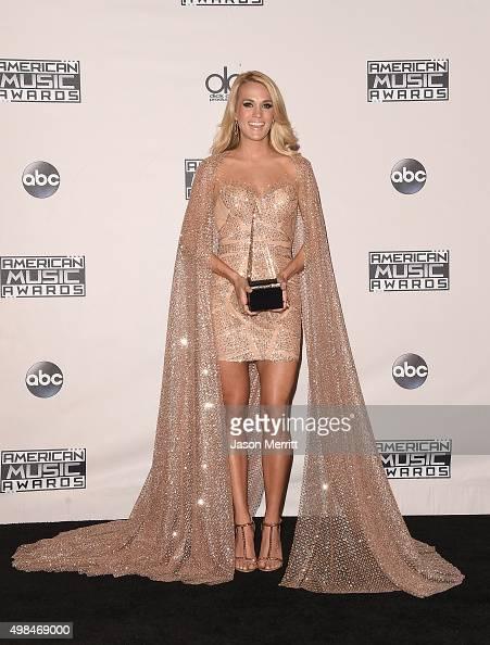 Recording artist Carrie Underwood, winner of Favorite