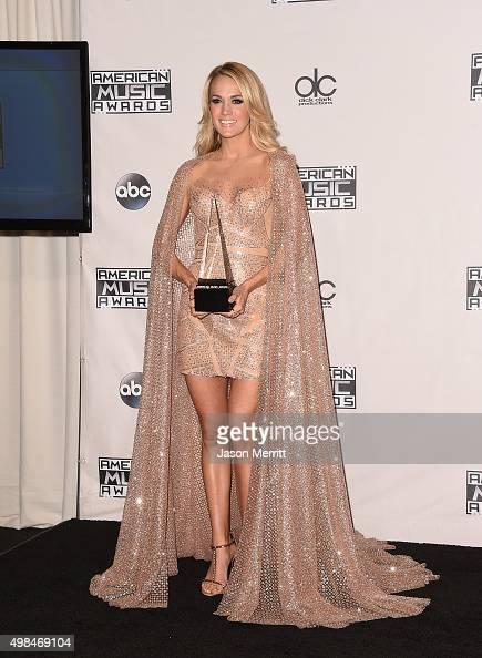 Carrie Underwood, winner Best New Artist and Best Female