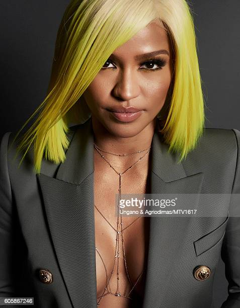 Recording artist Cassie poses for a portrait at the 2016 MTV Video Music Awards at Madison Square Garden on August 28 2016 in New York City