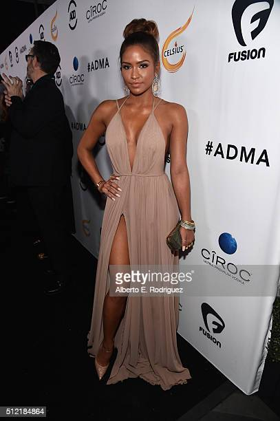 Recording artist Cassie Ventura attends the ALL Def Movie Awards at Lure Nightclub on February 24 2016 in Hollywood California