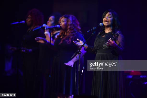 Recording Artist CeCe Winans performs onstage during Sam's Place Music For The Spirit at Ryman Auditorium on June 4 2017 in Nashville Tennessee