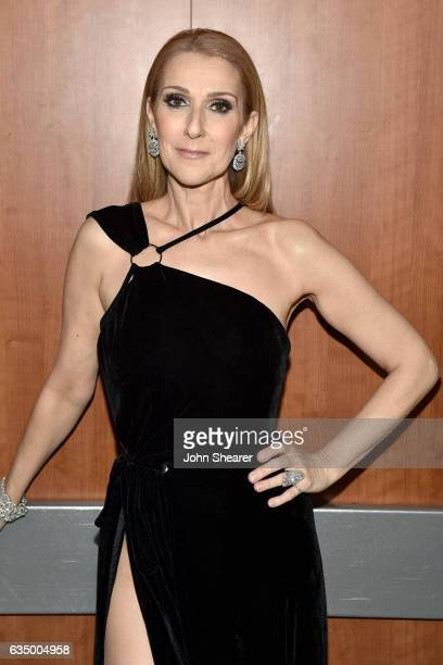 Recording artist Celine Dion attends The 59th GRAMMY Awards at STAPLES Center on February 12 2017 in Los Angeles California