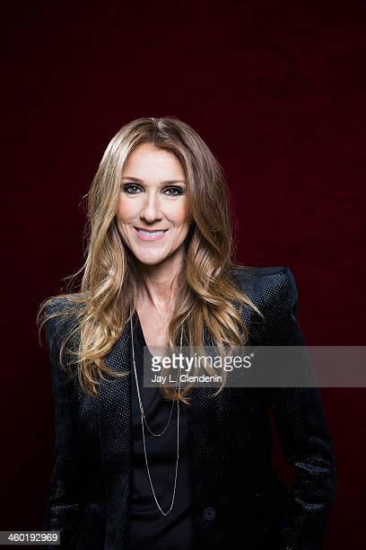 Recording artist Celine Dion is photographed for Los Angeles Times on December 14 2013 in Studio City California PUBLISHED IMAGE CREDIT MUST READ Jay...