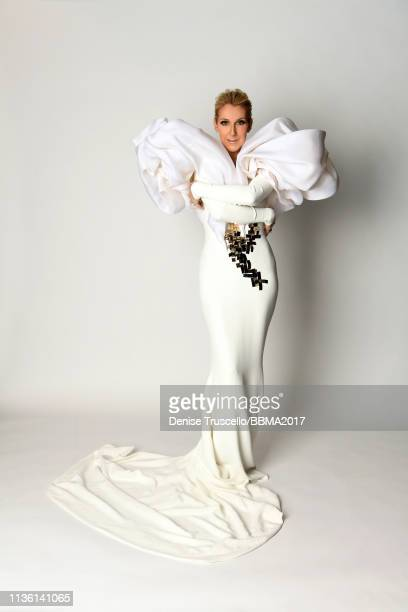 Recording artist Celine Dion poses for a portrait during the 2017 Billboard Music Awards at T-Mobile Arena on May 21, 2017 in Las Vegas, Nevada.