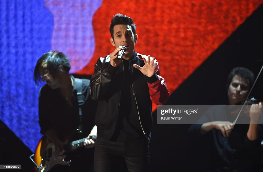 Recording artist Chad King of Great Big World performs at VH1's 5th Annual Streamy Awards at the Hollywood Palladium on Thursday, September 17, 2015 in Los Angeles, California.