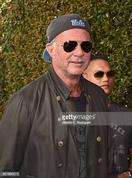 Recording artist Chad Smith of Red Hot Chili Peppers attends the John Varvatos 13th Annual Stuart House benefit presented by Chrysler with Kids' Tent...