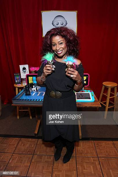 Recording artist Chaka Khan attends the GRAMMY Gift Lounge during the 56th Grammy Awards at Staples Center on January 25 2014 in Los Angeles...
