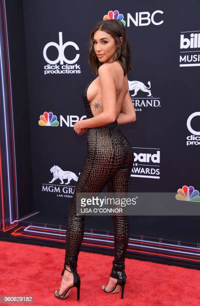 Recording artist Chantel Jeffries attends the 2018 Billboard Music Awards 2018 at the MGM Grand Resort International on May 20 2018 in Las Vegas...