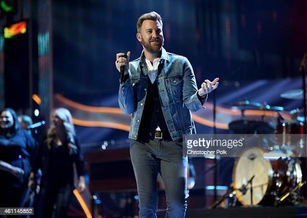 Recording artist Charles Kelley of music group Lady Antebellum performs onstage during The 41st Annual People's Choice Awards at Nokia Theatre LA...