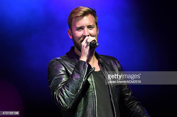 Recording artist Charles Kelley of music group Lady Antebellum performs onstage during the ACM Lifting Lives Gala at the Omni Hotel on April 17, 2015...