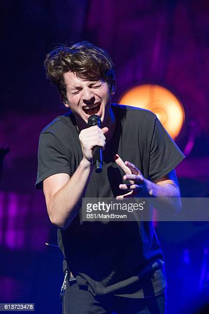Recording artist Charlie Puth performs at The Beacon Theatre on October 9 2016 in New York City