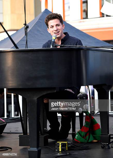 Recording artist Charlie Puth performs onstage at 1027 KIIS FM's Jingle Ball Village at KIIS FM's Jingle Ball 2015 Presented by Capital One preshow...