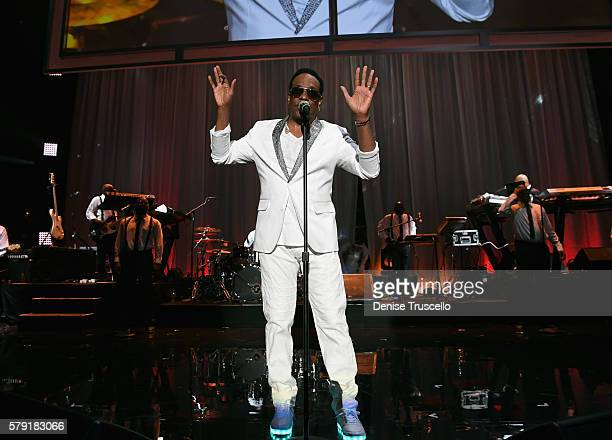 Recording artist Charlie Wilson performs during the Freedom Friday Concert at the Mandalay Bay Events Center on July 22 2016 in Las Vegas Nevada