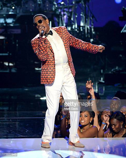 Recording artist Charlie Wilson performs onstage during the 2013 BET Awards at Nokia Theatre LA Live on June 30 2013 in Los Angeles California
