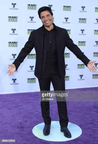 Recording artist Chayanne attends The 2017 Latin American Music Awards at Dolby Theatre on October 26, 2017 in Hollywood, California.