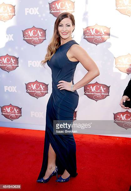 Recording artist Chelsea Bain arrives at the American Country Awards 2013 at the Mandalay Bay Events Center on December 10 2013 in Las Vegas Nevada