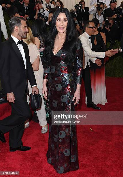 Recording artist Cher attends the 'China Through The Looking Glass' Costume Institute Benefit Gala at the Metropolitan Museum of Art on May 4 2015 in...