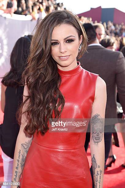 Recording artist Cher Lloyd attends the 2014 MTV Video Music Awards at The Forum on August 24 2014 in Inglewood California