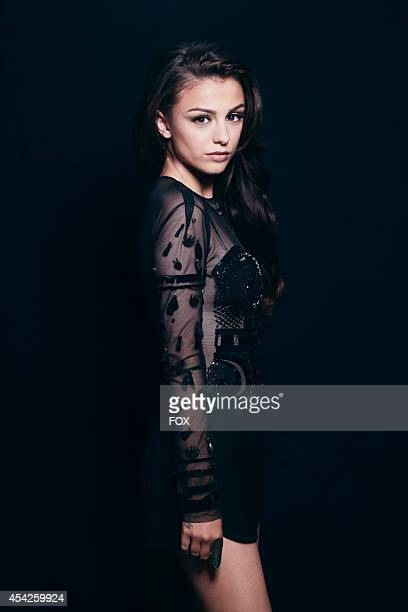 Recording artist Cher Lloyd is photographed at the Fox 2014 Teen Choice Awards at The Shrine Auditorium on August 10 2014 in Los Angeles California